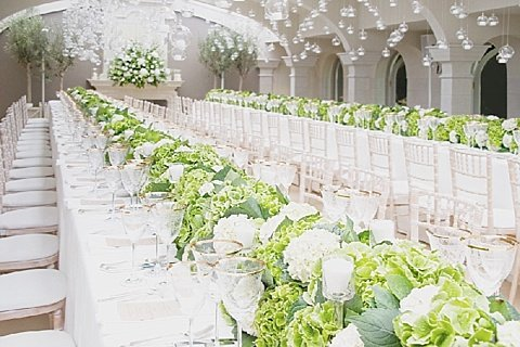 The key to creating a super-stylish wedding reception