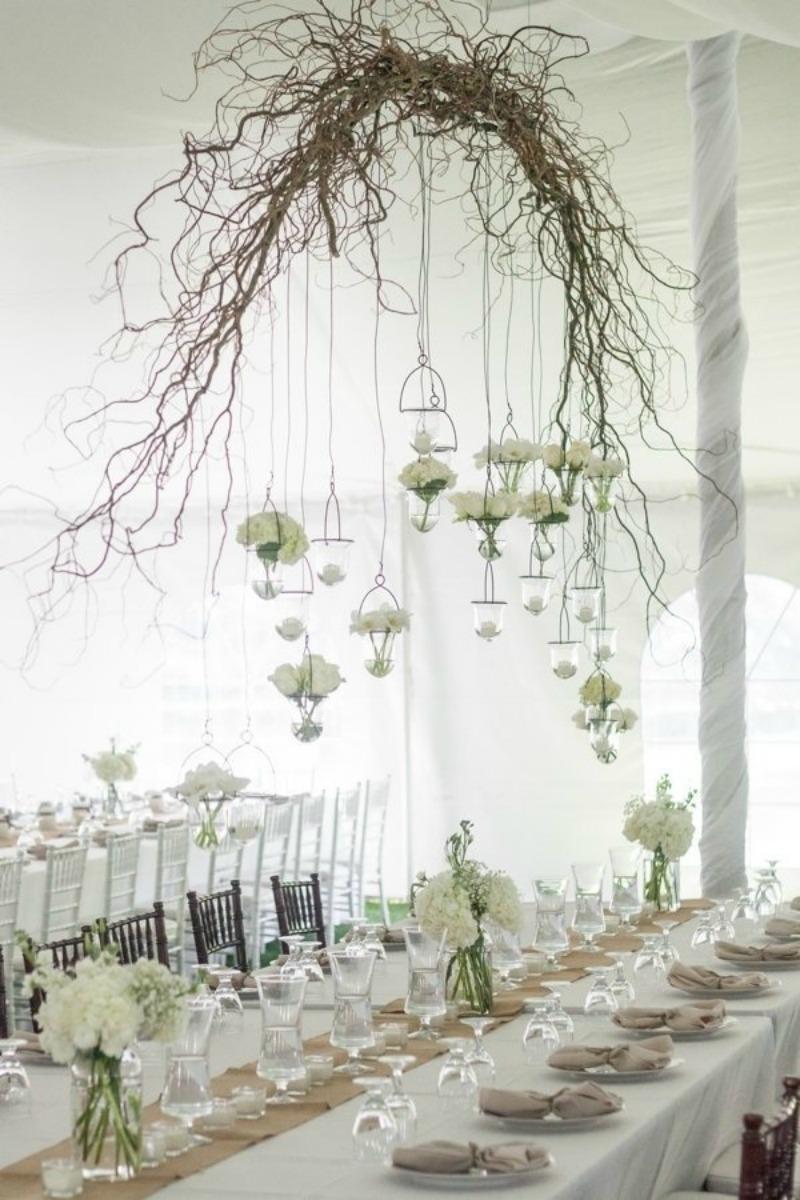 Suspended florals for weddings suspended floral arrangements - Suspended Wedding Flowers