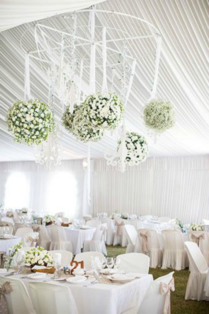 Suspended florals for weddings suspended floral arrangements - Hanging Wedding Florals