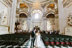Kim & Scott - A magical St Paul's Cathedral Wedding